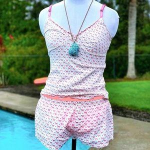 Victoria Secret shorts tank top Pajama set sz M